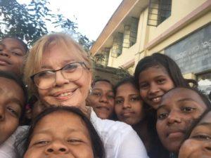 Graciela Delucchi missione India